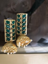 Indian jewellery jumki Earrings available in 2 colours  King, L7B