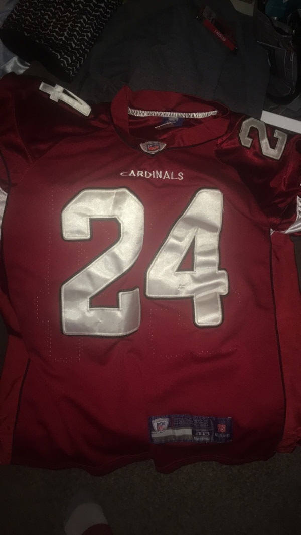 buy online dbae7 8800c Adrian Wilson jersey double stitched