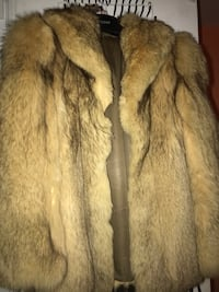 Golden fox fur coat initially bought for 2000$