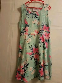 Pretty Girls Size 12 party floral dress Mississauga, L5E 3J1