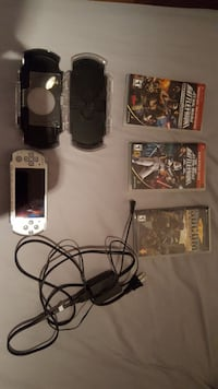 PSPsp 3000 with games, case, and charger Victoria, V9A 6K6
