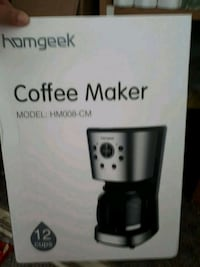 Coffee maker new  Surrey, V3W 2N6