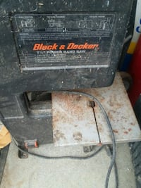 Black & Decker band saw Cleveland
