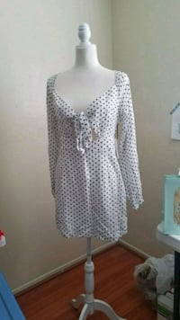 Polka dots long sleeve dress Indio, 92201