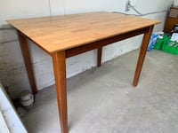 Refinished pub height dining table  Saanich, V8Z 6W5