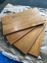 Oak cabinet doors, measures 29 x 13 approximately Lacey