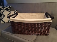 Large lined basket Springfield, 22151