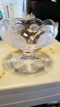 clear glass bowl with lid Adelphi, 20783