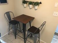 Dinette Bar Height Table and 2 Chairs Blackwood, 08012