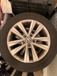 2017 VW Jetta Wolfsburg Wheels Rims Surrey, V3S