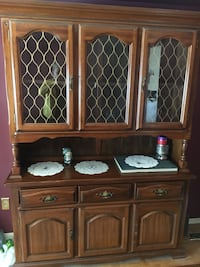 Brown wooden cabinet with drawer Toronto, M1K 5G6