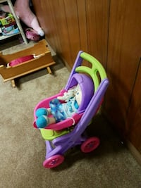 toddler's pink and purple plastic toy 506 km