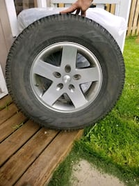 Jeep wrangled alloy rims  Brampton, L6P 3R3