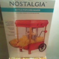 Popcorn machine...2nd one I have Silver Spring, 20907