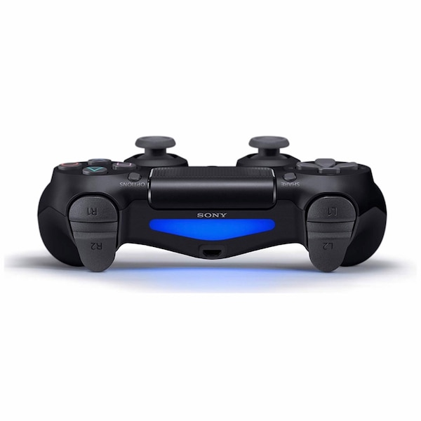 Black Sony PS4 DualShock 4 Controller 4