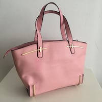 women's pink leather tote bag Longueuil, J4K