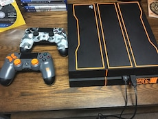 Sony PS4 1tb Black Ops Edition w/ two controllers and games