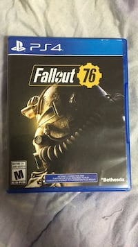PS4 Fallout 4 game case Maple Ridge