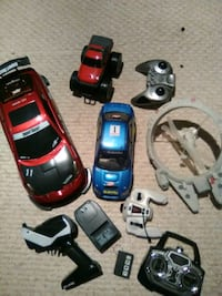 Remote controlled boy's toy cars Calgary, T2Y 4W8