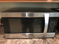 stainless steel and black microwave oven Orchard Hills, 21742