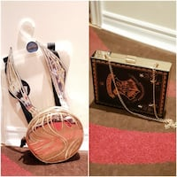Harry Potter Clutch And Snitch Bag ~ New Whitby