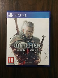 PS4 The Witcher Wild Hunt 3