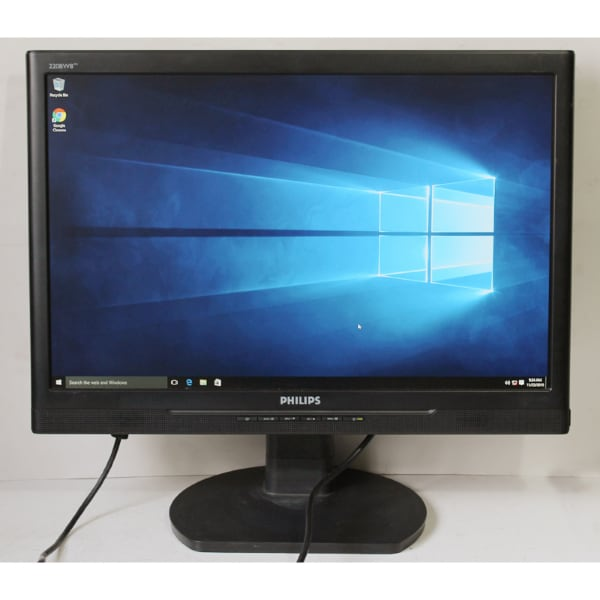 Philips 220BW8 22 inch Widescreen LCD Monitor with Speakers for Computers