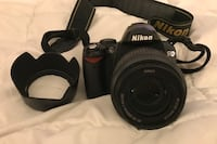 Nikon D40x with lense and case