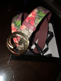 black and green Gucci belt Houston, 77073
