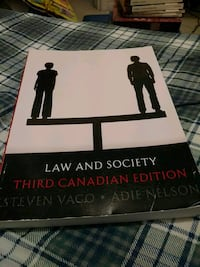 Law and Society Third Edition Markham, L6E 1T6