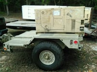 Us army 10k generator with trailer or 2200 with ou Oxon Hill, 20745
