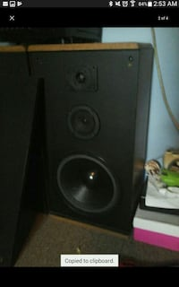 3 way 580 watt speakers RECEIVER NOT INCLUDED