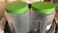 2    3 qt containers