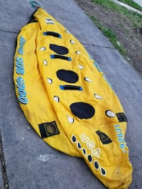 yellow and black inflatable boat Houston, 77086