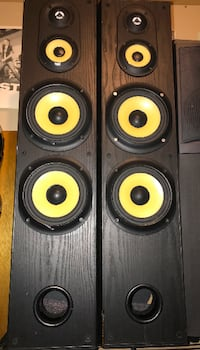 Sony Tower Speakers - Model SS-MF550H