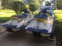 White and blue personal watercraft Pensacola, 32503