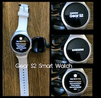 White Samsung Gear S2 Smart Watch  Arlington