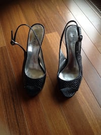 Bebe all leather shoes size 7-1/2. Brossard, J4Y 2J7