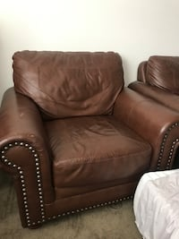 Brown Rustic Sofa Chair and Matching Loveseat Las Vegas, 89178