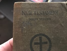 1918 soldiers Bible made for army and navy carried throughout World