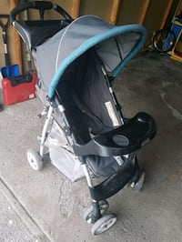 baby's black and gray stroller Montréal, H8N 1Y4