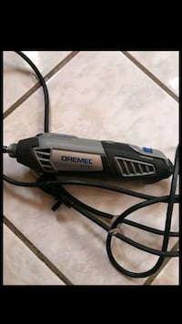 black and gray Dremel corded power tool Bakersfield, 93307