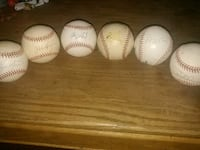 Older orioles and others autograph baseballs.. Hagerstown, 21740