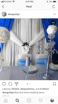 Event planner and rental services available Brampton