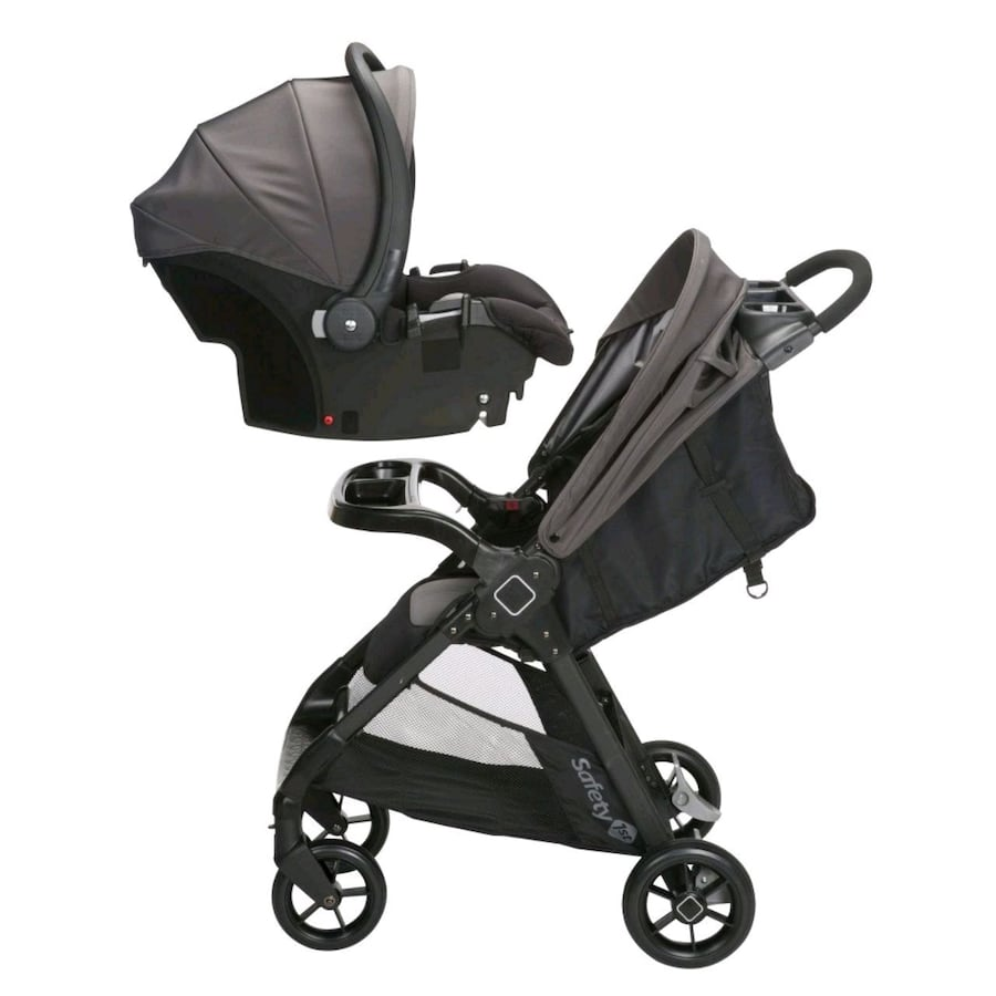 Safety first carseat and stroller