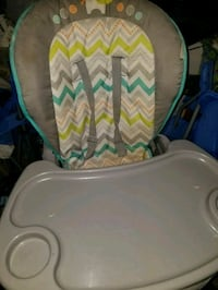 white and green chevron print textile Pearland, 77581