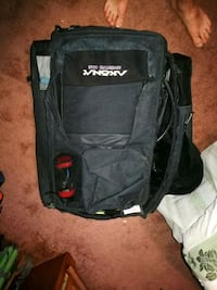 Akona scuba gear bag can be used as a backpack has handle and wheels