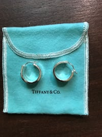 Tiffany 1837® Wide Hoop Earrings FAIRFAX