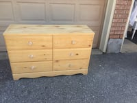 Wooden dresser,sanded and ready to paint or stain