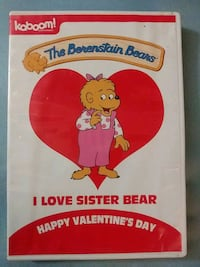 The Berenstain Bears Happy Valentines day dvd